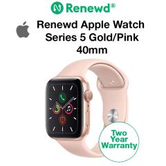 Renewd Apple Watch Series 5 Gold/Pink 40mm