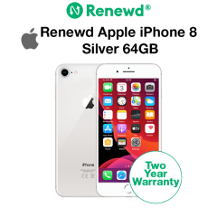 Renewd Apple iPhone 8 Silver 64GB