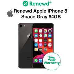 Renewd Apple iPhone 8 Space Gray 64GB