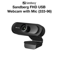 Sandberg - FHD USB Webcam with Mic (333-96)