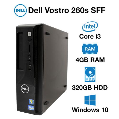 Dell Vostro 260s SFF Core i3 | 4GB | 320GB HDD