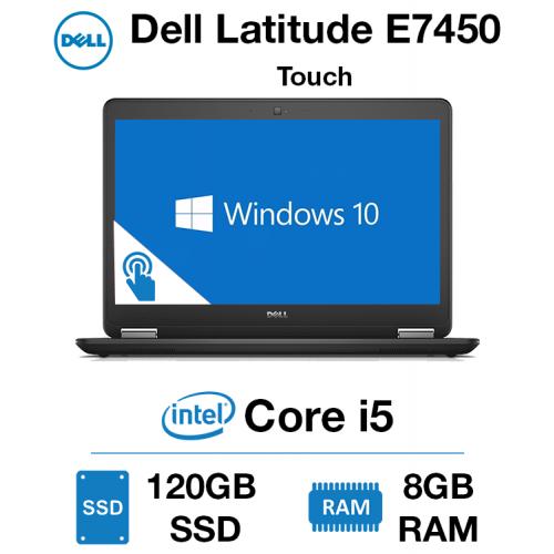 Dell Latitude E7450 Touch Core i5 | 8GB RAM | 120GB SSD | Webcam