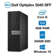 Dell Optiplex 5040 SFF Core i5 | 8GB RAM | 240GB SSD | DVD
