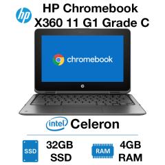 HP Chromebook x360 11 G1 EE Touch Celeron | 4GB RAM | 32GB SSD Grade C - 019