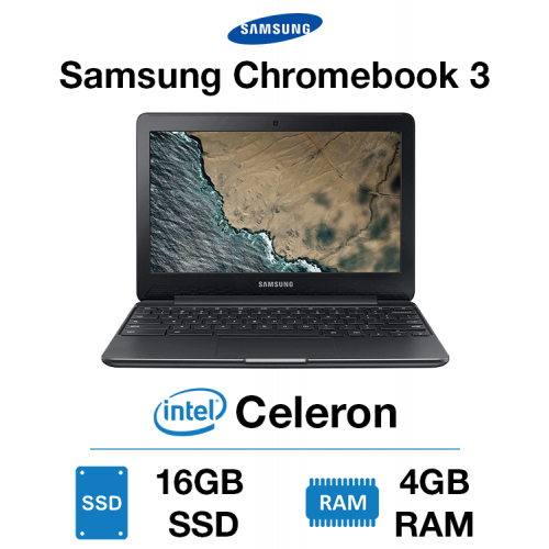Samsung Chromebook 3 Celeron | 4GB | 16GB eMMC