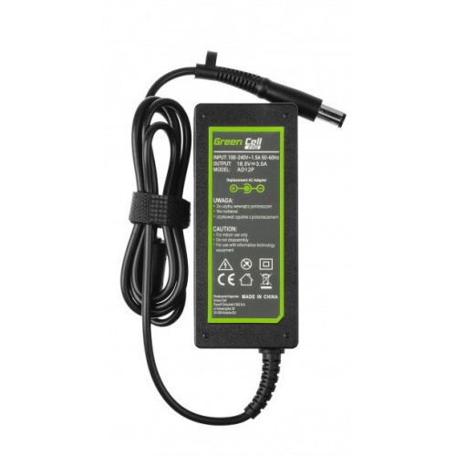 Green Cell AD12P. Purpose: Notebook, Power supply type: Indoor, Input voltage: 100 - 240 V. Width: 109 mm, Depth: 47 mm, Height: 31 mm. Quantity per pack: 1 pc(s), Cables included: AC, Package type: Box