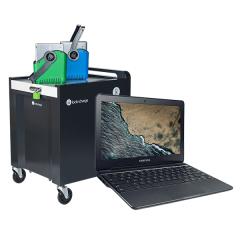 30x Samsung Chromebook 3 & Lock n Charge Carrier 30 Mk5 Cart Bundle