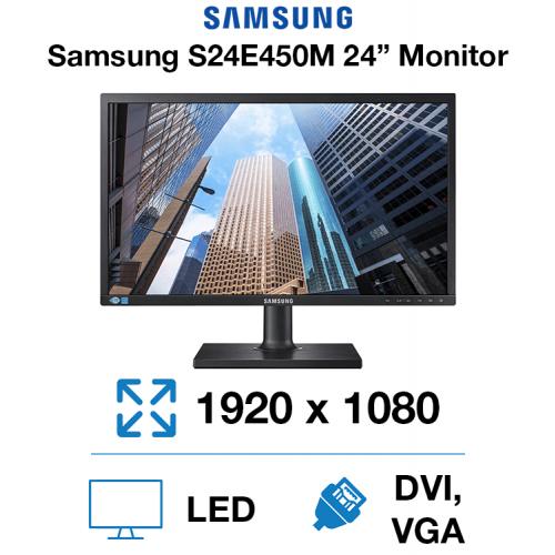 """Samsung S24E450M 24"""" Monitor"""