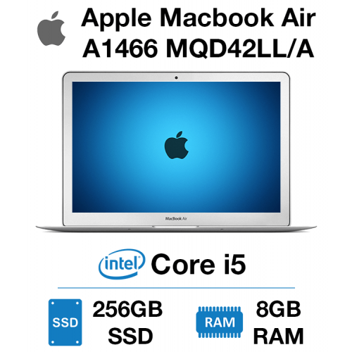 Apple Macbook Air A1466 MQD42LL/A Core i5 | 8GB | 256GB SSD
